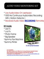 Audio Video Monitoring kit