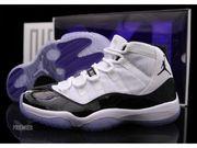 Air Jordan XI Retro Concords shoes at mybestshoe.com