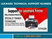 Instant Lexmark tech Support In New York at 1-866-892-2383