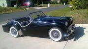 1961 Triumph TR3ACHASSIS # EB62303