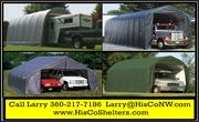 Portable Garage Shelter for Motorhome,  5th Wheel