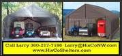 Shelter Logic Portable 3 Car Garage