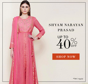 Valentine's Day Sale - Get upto 40% Off on Designer Dresses
